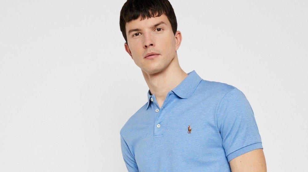 Klikk på bildet for å forstørre. Salg på poloskjorte.