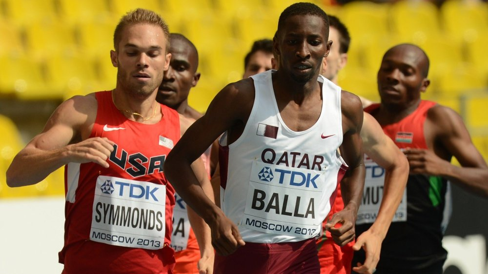 Klikk på bildet for å forstørre. COMEBACK I OL? Musaeb Balla fra Qatar har i hvert fall muligheten til å delta i lekene i 2021.