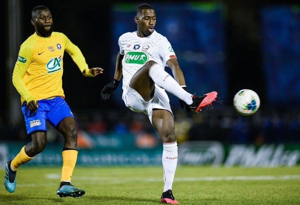 Klikk på bildet for å forstørre. ETTERSPURT: Lilles midtbanespiller Boubakary Soumaré .