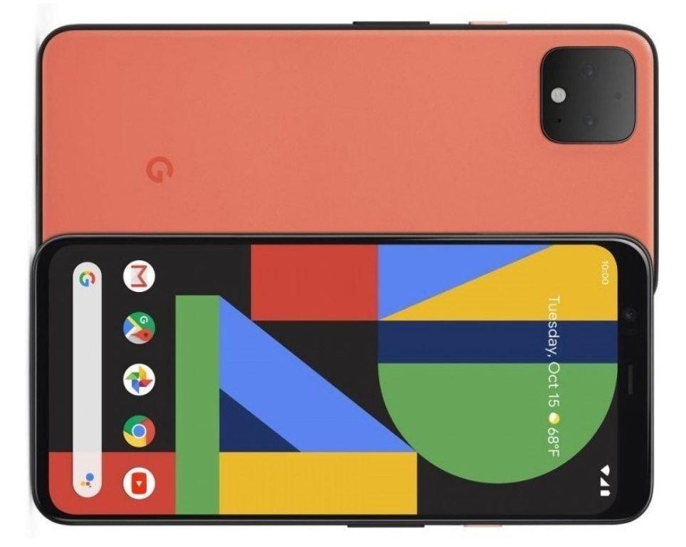 Klikk på bildet for å forstørre. Google Pixel 4