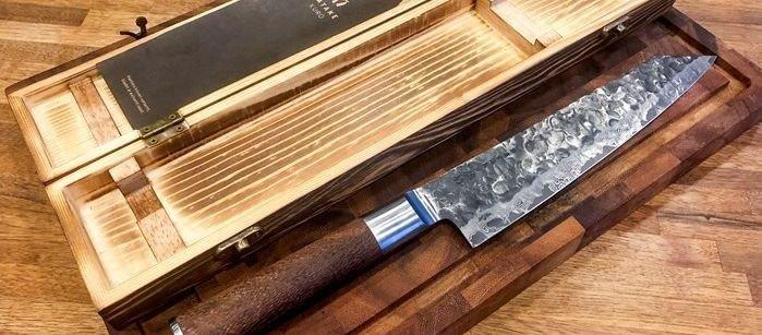Klikk på bildet for å forstørre. Japansk kokkekniv