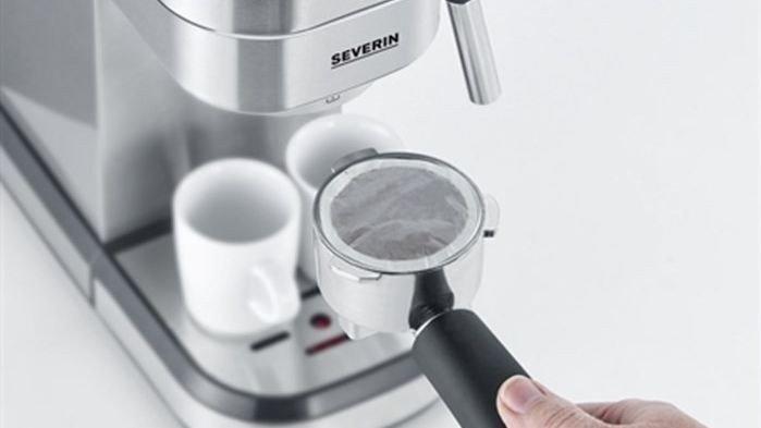 Klikk på bildet for å forstørre. Espressomaskin på salg.