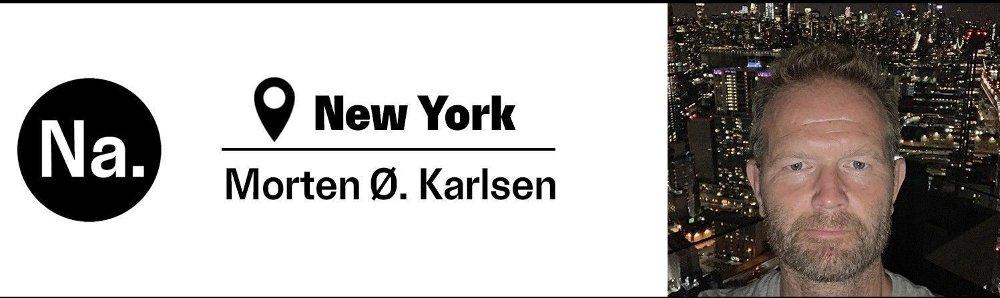 Klikk på bildet for å forstørre. Foto av Nettavisen-journalist Morten Ø. Karlsen i New York.