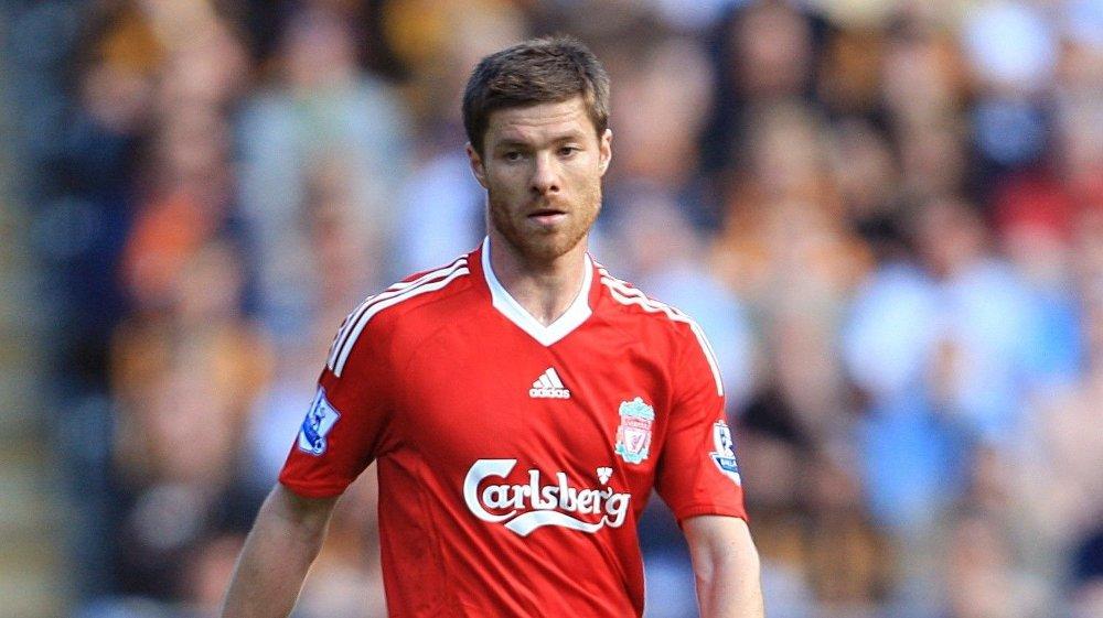 Klikk på bildet for å forstørre. LEGENDARISK: Xabi Alonso er en legende både i Real Sociedad og Liverpool.