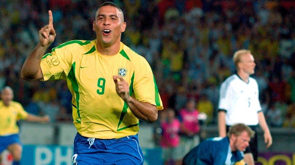 Klikk på bildet for å forstørre. VM-HELT: Ronaldo vant VM to ganger for Brasil.