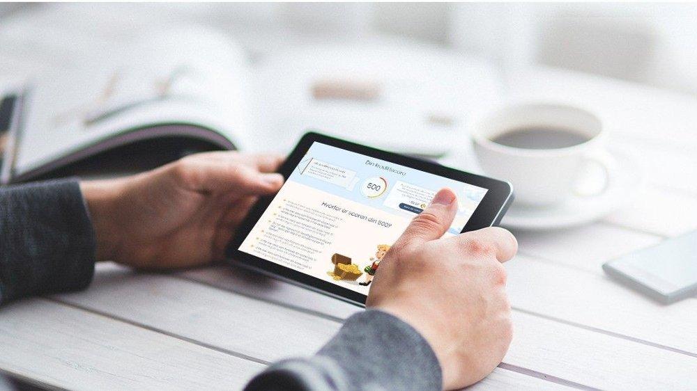 Klikk på bildet for å forstørre. På Defero.no får du blant annet innsikt i hvordan din kredittscore er bygget opp.
