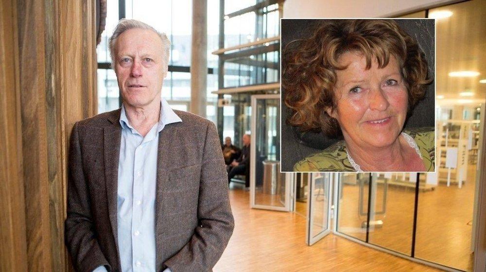 Klikk på bildet for å forstørre. Anne Elisabeth Hagens ektemann Tom Hagen ble pågrepet av politiet tirsdag morgen.