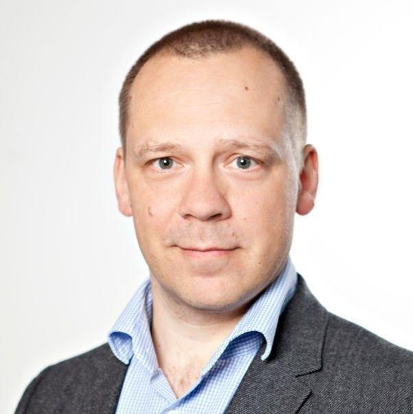 Klikk på bildet for å forstørre. Kommunikasjonsdirektør Jens Schei Hansen i Espira Barnehager.