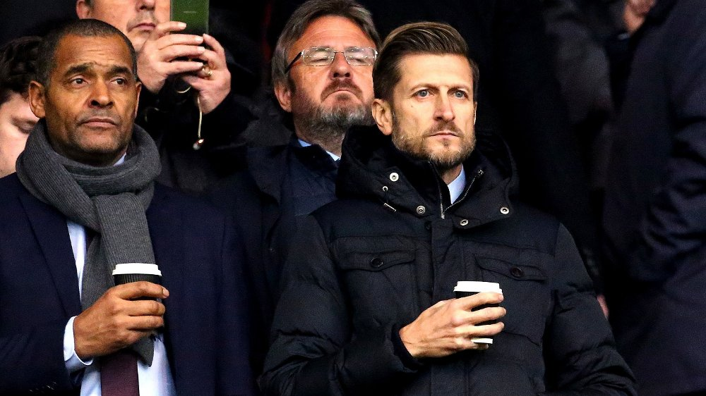 Klikk på bildet for å forstørre. VIL FULLFØRE: Crystal Palace-formann Steve Parish under ligaoppgjøret mot borte mot Southampton tidligere i sesongen.