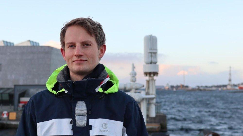 Klikk på bildet for å forstørre. Aleksander Stokkebø - stortingsrepresentant Høyre fra Stavanger
