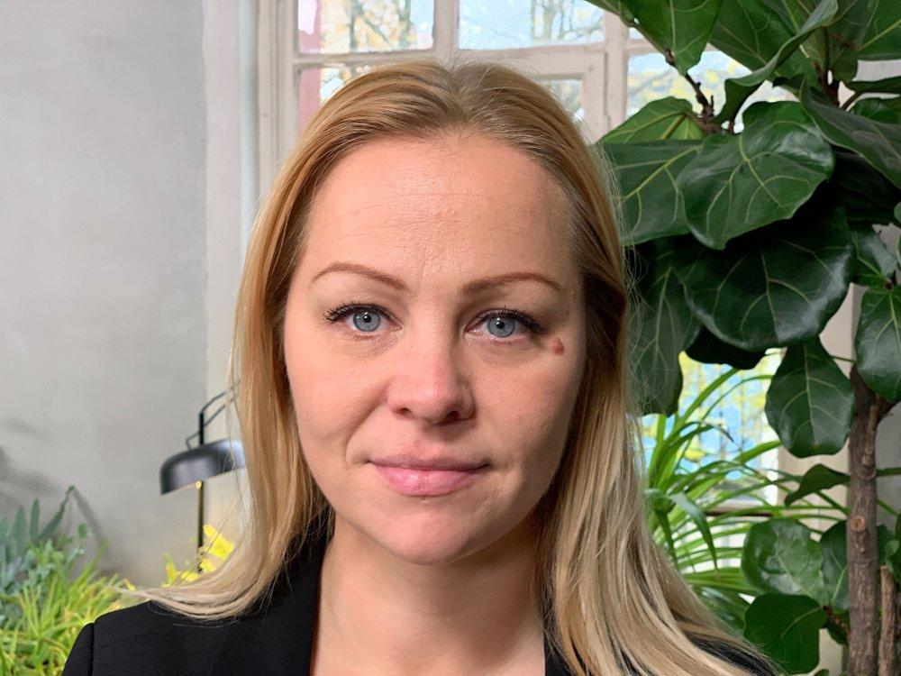 Klikk på bildet for å forstørre. Rødt-politiker Eivor Evenrud.