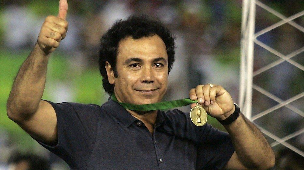 Klikk på bildet for å forstørre. STOR LEGENDE: Hugo Sánchez anses som kanskje den største legenden i mexicansk fotballs historie.