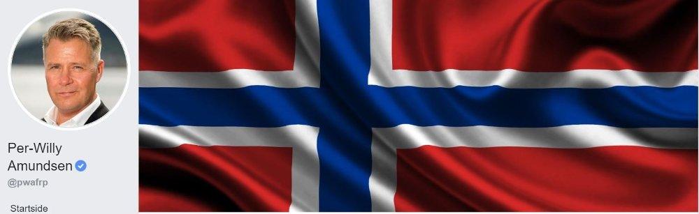 Klikk på bildet for å forstørre. Per-Willy Amundsens facebook-side