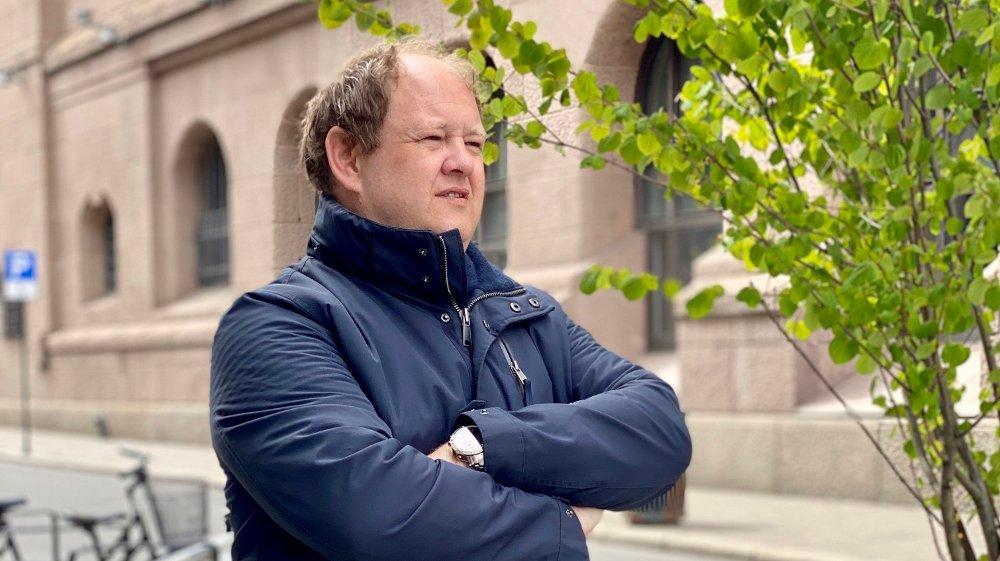 Klikk på bildet for å forstørre. OVERRASKET: Avantgarde Search-sjef Erik Falk Hansen har vært lenge i rekrutteringsbransjen, men har aldri opplevd en så overveldende mengde henvendelser fra ansatte i fast jobb.