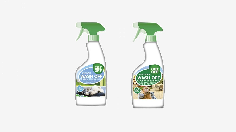 Klikk på bildet for å forstørre. Wash Off Cleaner Neutraliser til innendørs og utendørsbruk.