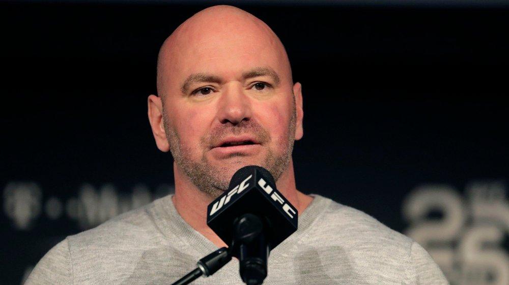 Klikk på bildet for å forstørre. BEKYMRET: Dana White ønsker ikke å se Mike Tyson tilbake i ringen.