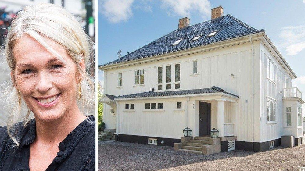 Klikk på bildet for å forstørre. PRØVER IGJEN: Anita Krohn Traaseth og ektemannen prøver igjen å selge boligen på Ullern i Oslo vest.