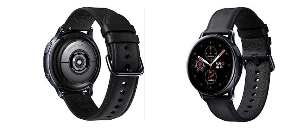 Klikk på bildet for å forstørre. Samsung Galaxy Watch Active2
