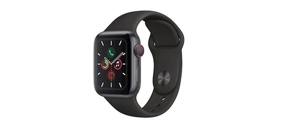 Klikk på bildet for å forstørre. Apple Watch Series 5 GPS+Cellular