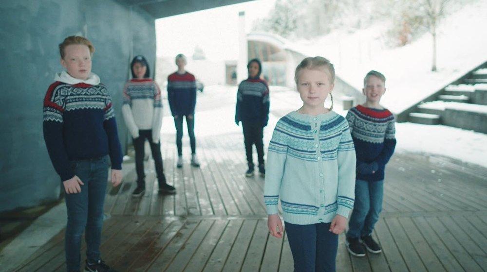Klikk på bildet for å forstørre. Ræpparar i nynorskland.
