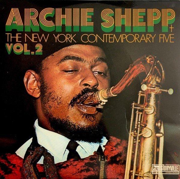 Klikk på bildet for å forstørre. Archie Shepp + The New York Contemporary Five - Vol. 2