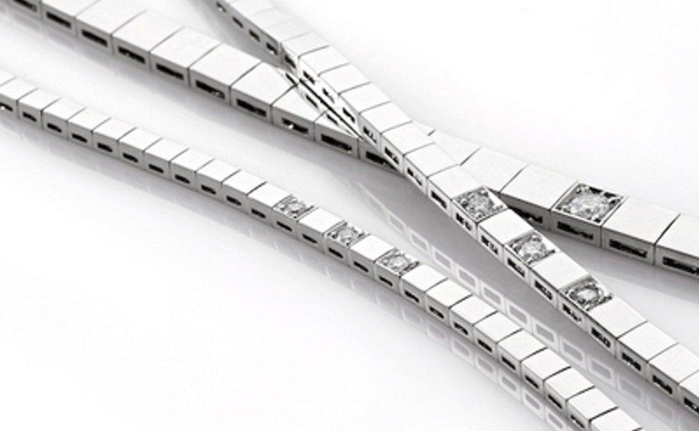 Klikk på bildet for å forstørre. Et diamantarmbånd er for de gangene du virkelig vil slå på stortromma.
