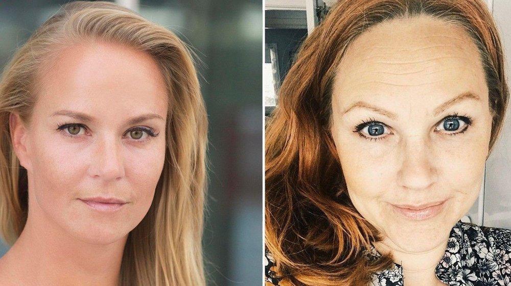 Klikk på bildet for å forstørre. LOVER REFUSJON: Både Nora Aspengren i TUI og Siri Røhr-Staff i Ving lover kundene at de skal få tilbakebetalt det selskapene skylder dem, men ingen av kan bekrefte at selskapene har likviditet til dette nå.