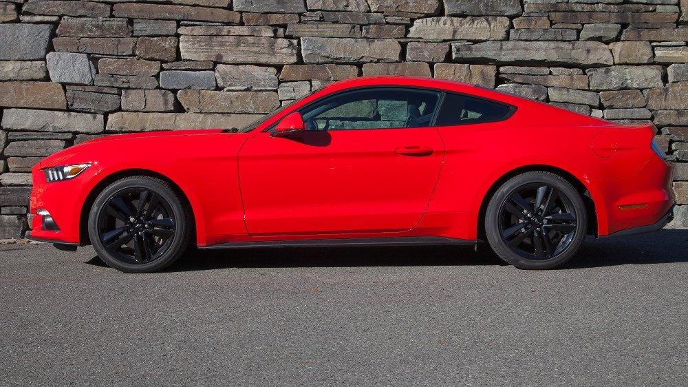 Klikk på bildet for å forstørre. Ford Mustang