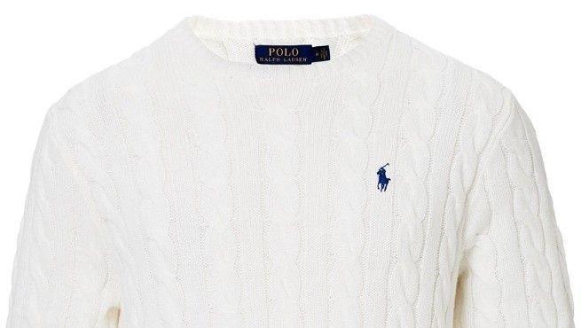Klikk på bildet for å forstørre. Polo Ralph Lauren pullover