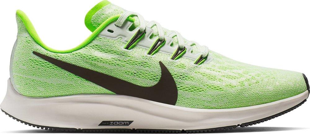 Klikk på bildet for å forstørre. Limegrønn joggesko.