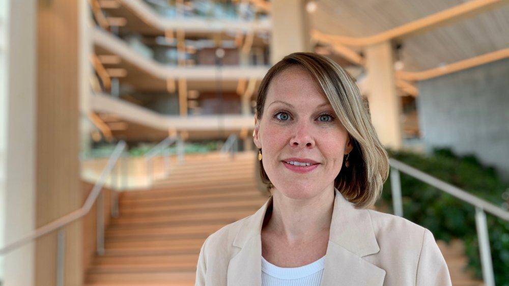 Klikk på bildet for å forstørre. AVDRAGSFRIHET: – Søk først avdragsfrihet på lånet, framfor å bruke sparepengene, sier spareekspert Maren Stangeland Oftedal i SR-Bank.