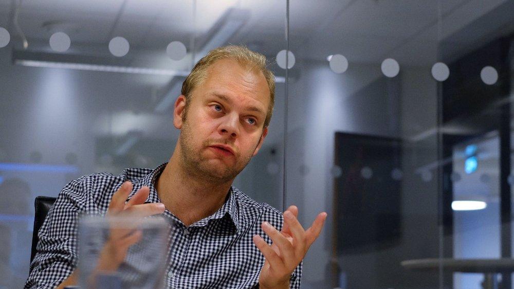 Klikk på bildet for å forstørre. UNORSK: – Equinor er ikke et vanlig selskap, men er statens oljeselskap. Denne typen pensjonsordninger og lønninger er veldig unorsk, og er ikke noe man ser i andre norske selskaper, sier Rødts Mímir Kristjánsson.