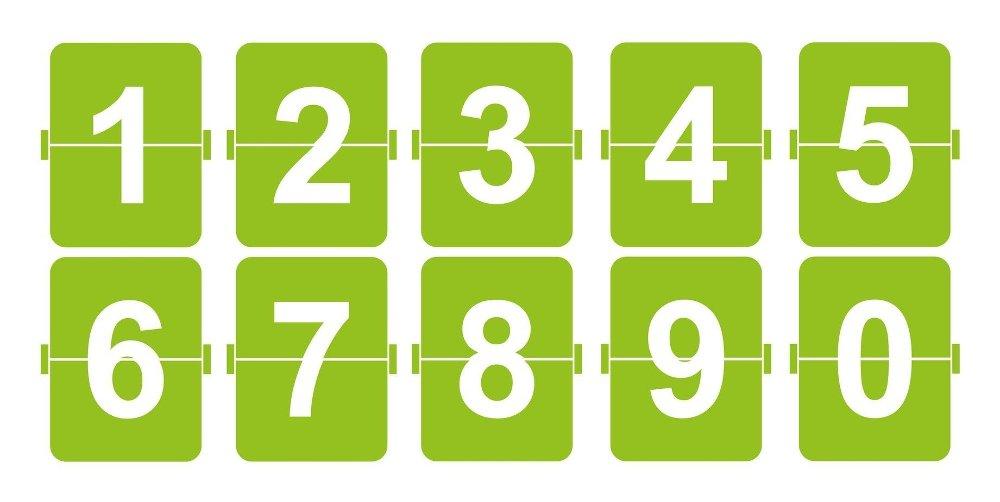 Klikk på bildet for å forstørre. Tall i rekkefølge er ikke så smart. Det er det veldig mange som krysser av på. I tillegg til mønstre.
