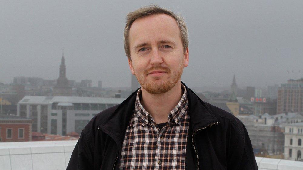 Klikk på bildet for å forstørre. Rune Berglund Steen, leder for Antirasistisk senter.