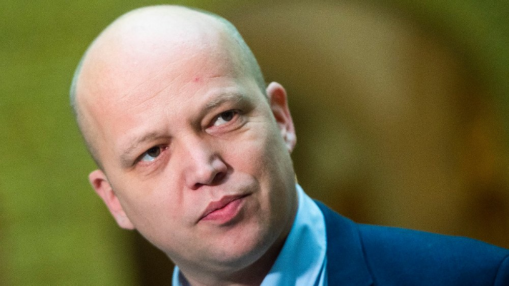 Klikk på bildet for å forstørre. Senterpartiets leder Trygve Slagsvold Vedum.