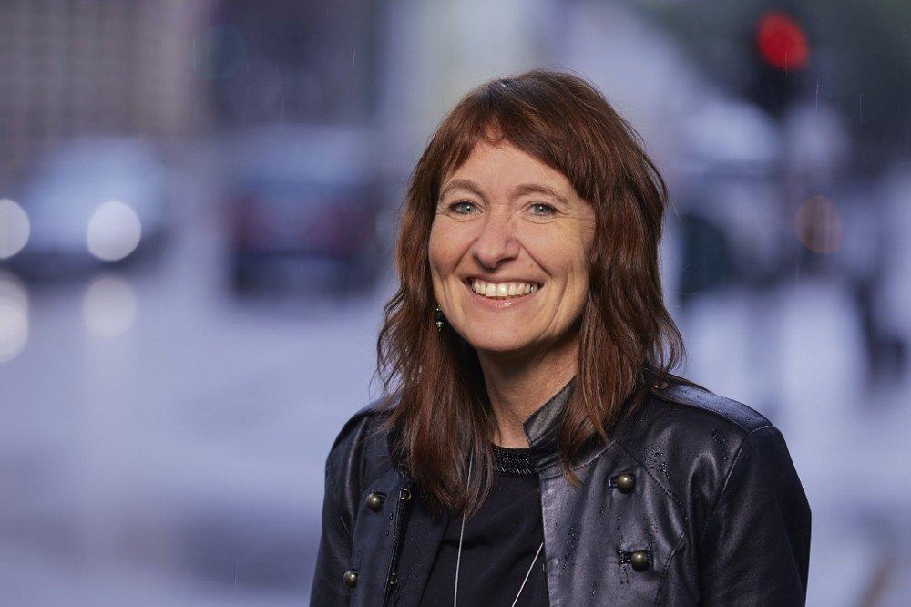 Klikk på bildet for å forstørre. Kommunikasjonssjef Ingrid Trømborg i Trygg Trafikk.