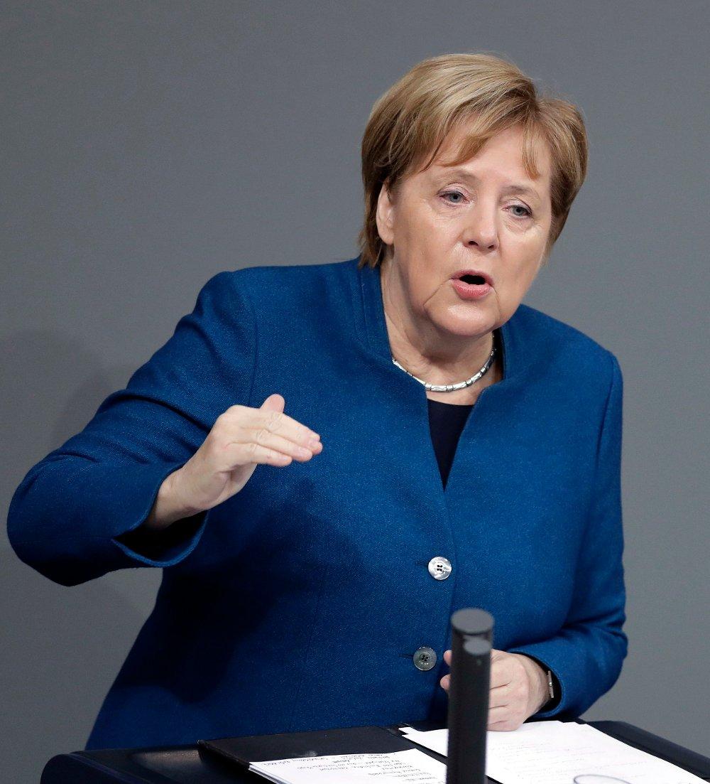 Klikk på bildet for å forstørre. Angela Merkel.