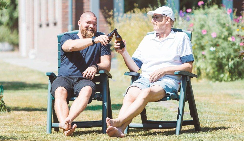 Klikk på bildet for å forstørre. Selv om øl ofte kommer i glass kan det være greiet å ha noen ekstra glass til sommerfesten.