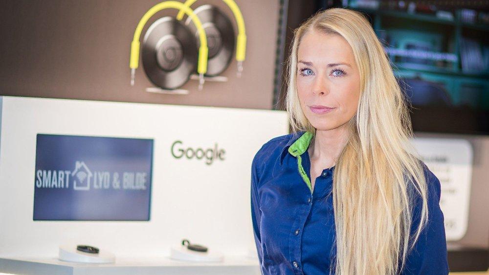 Klikk på bildet for å forstørre. Kommunikasjonssjef Madeleine Schøyen Bergly i Elkjøp.
