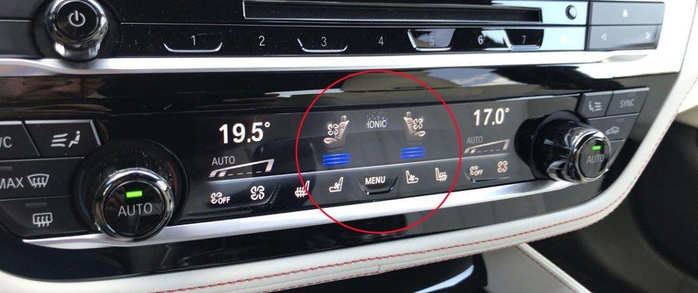 Klikk på bildet for å forstørre. Kald luft og kalde seter: Da blir glovarme dager langt mer behagelige i bilen.