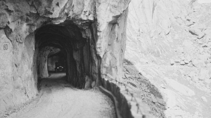 Klikk på bildet for å forstørre. tunnell