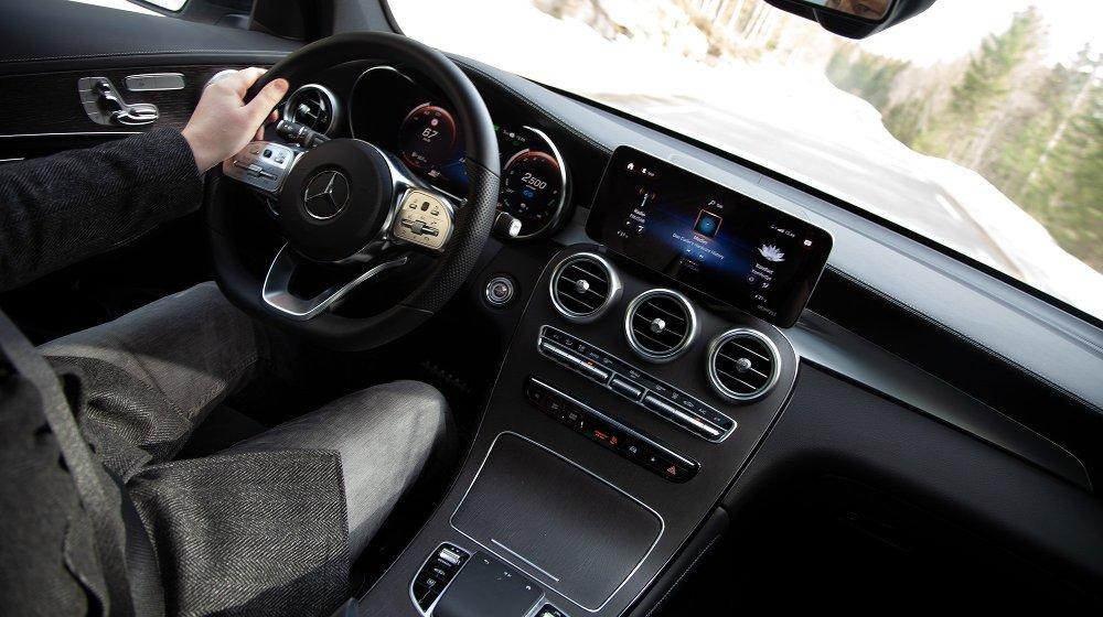 Klikk på bildet for å forstørre. Mercedes GLC 300e plug-in