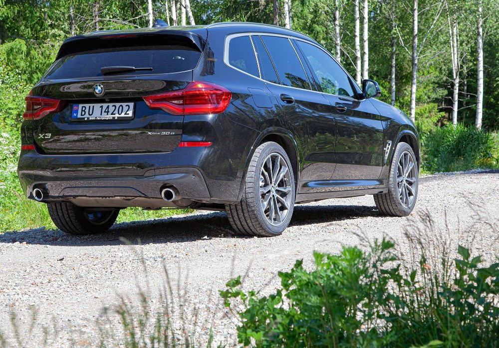 Klikk på bildet for å forstørre. BMW X3 xDrive30e