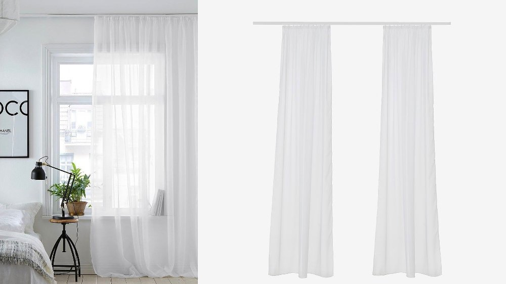 Klikk på bildet for å forstørre. gardiner