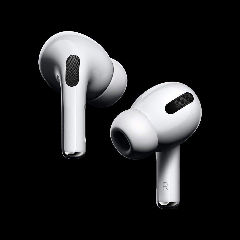 Klikk på bildet for å forstørre. AirPods kan nå bytte lyd sømløst mellom Apple-enheter med automatisk enhetsbytting.
