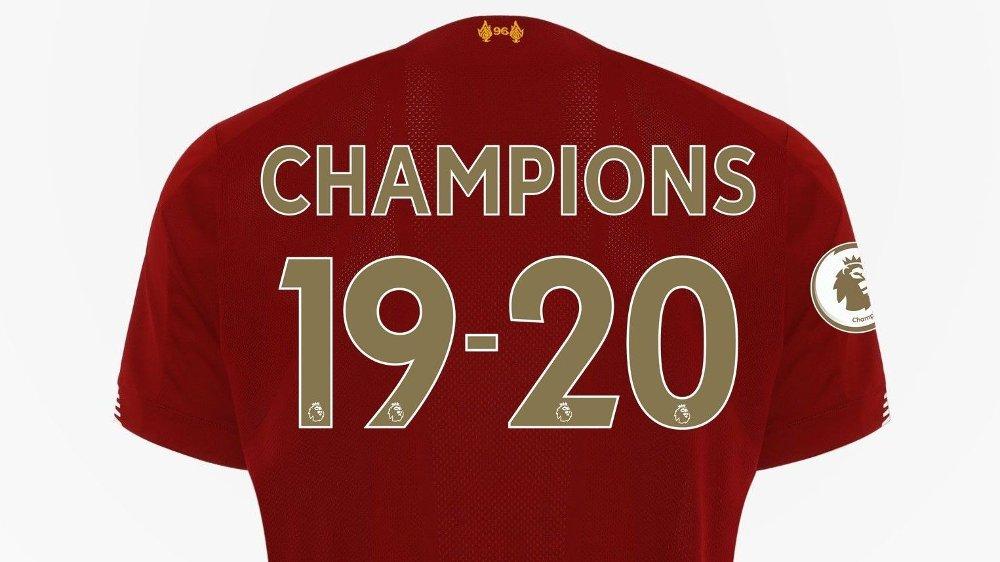 Klikk på bildet for å forstørre. 1. Liverpools hjemmedrakt 2019-20