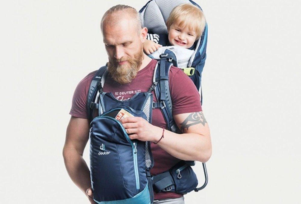 Klikk på bildet for å forstørre. Kid comfort pro kan justeres i lengden slik at den enkelt kan tilpasses både mor og far.