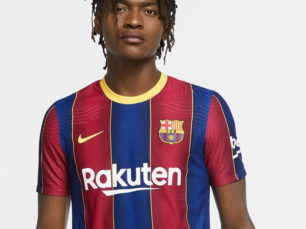 Klikk på bildet for å forstørre. Slik ser Barcelonas nye hjemmedrakt ut.