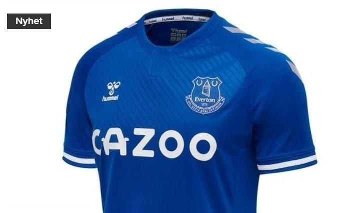 Klikk på bildet for å forstørre. Dette er drakten Everton-spillerne skal kle seg i neste sesong.