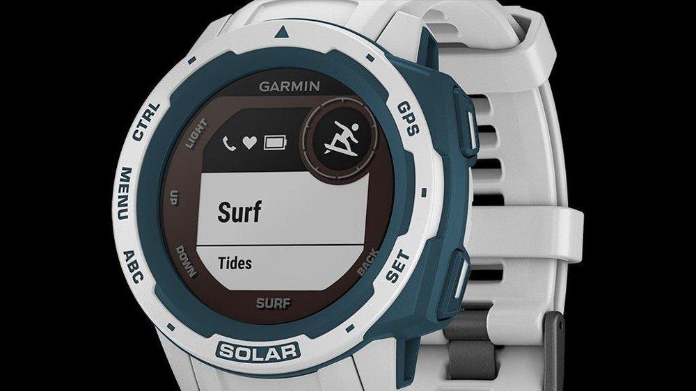Klikk på bildet for å forstørre. Garmin Instinct Surf Solar